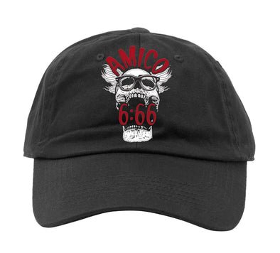 SKULL 6:66 Logo Dad-Hat