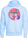 Bi Guys Limited Edition Hoodie (Pink and Blue)