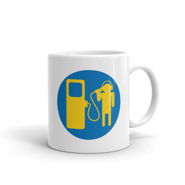 Gas Digital Logo Mug