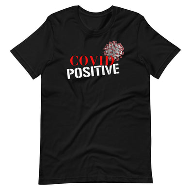Covid Positive T-Shirt (Black)