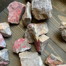 Load image into Gallery viewer, Stones for the 8 Extraordinary Meridians: Cinnabar in Quartzite from Nevada (pair)