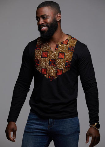 African spring Dashiki-200000707-[African Clothing]-[African Knowledge]-[Men's Clothing]-[Women's clothing]-Afreekha