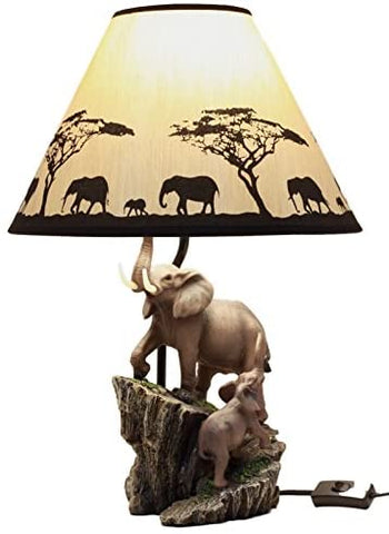 African Elephant lamp, Afreekha, Interior Decor, room&bedding- All African Store