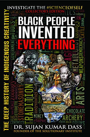 Black People Invented Everything, Afreekha, Book, Books, Trivia & Fun Facts- All African Store