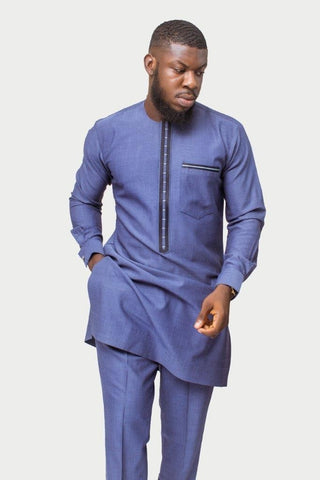 African Mens Wear Suit, Traditional Clothing-[African Clothing]-[African Knowledge]-[Men's Clothing]-[Women's clothing]-Afreekha