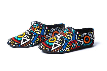 Maasai ankara Shoes