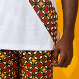 African couple clothes casual, Afreekha, Afreekhan kings, Afreekhan Queens, serspress, spring, urban- All African Store
