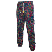 African Printed Joggers