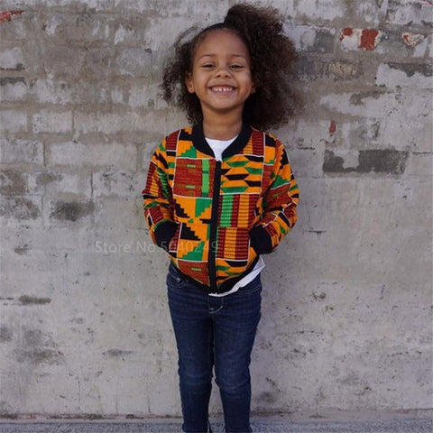 Children Afircan Clothes News Baby Girl Boy Dashiki Print Ankara-200000707-[African Clothing]-[African Knowledge]-[Men's Clothing]-[Women's clothing]-Afreekha