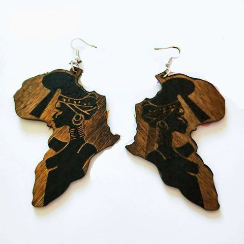 African Tribal Earings-[African Clothing]-[African Knowledge]-[Men's Clothing]-[Women's clothing]-Afreekha