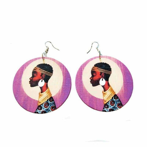 African Wooden earrings, Afreekha, Accessories, Afreekhan Queens, Earrings, Front page, New Apparel, Queens, Queens Accessories- All African Store