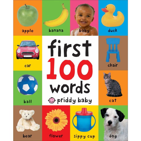 First 100 Words Roger Priddy: Books, Afreekha, Kids & Babies, Toys- All African Store