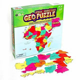 GeoPuzzle Africa Educational Kid Toys for Boys and Girls, Afreekha, Kids & Babies, Toys- All African Store