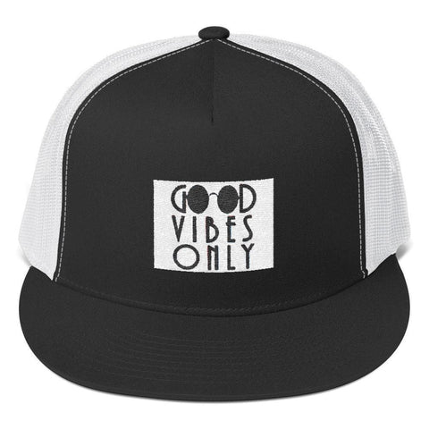 Good Vibes only Trucker Cap-[African Clothing]-[African Knowledge]-[Men's Clothing]-[Women's clothing]-Afreekha