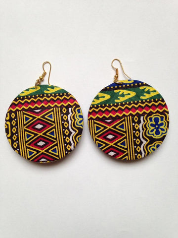 African Tribal Earring