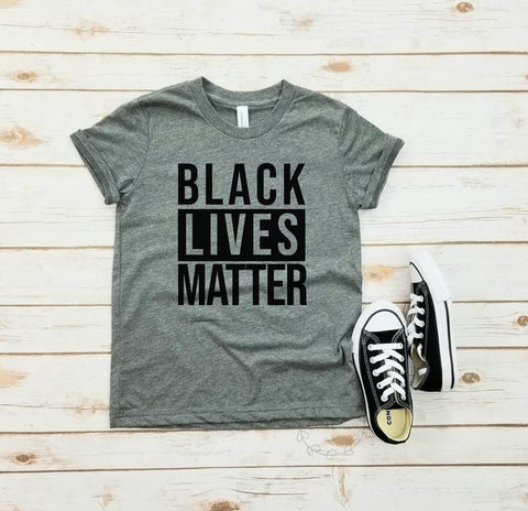 Black Lives Matter - unisex youth tshirt