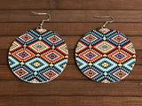 African Tribal Earrings