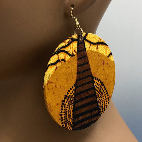 African Roots Earrings