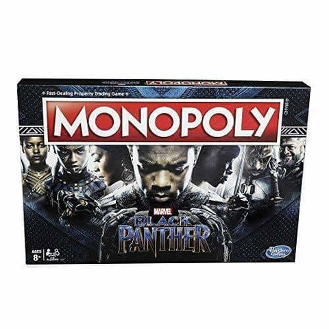 Monopoly Game: Black Panther Edition-[African Clothing]-[African Knowledge]-[Men's Clothing]-[Women's clothing]-Afreekha