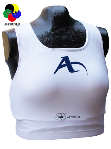 Arawaza Ladies Chest Guard WKF Approved