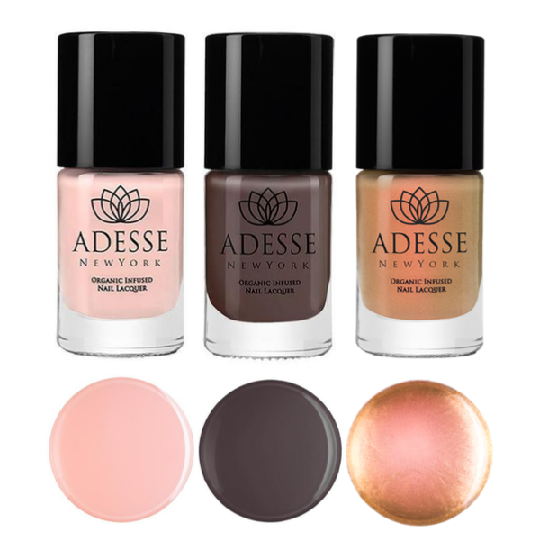 Golden Pink Chocolate Set - adesseny