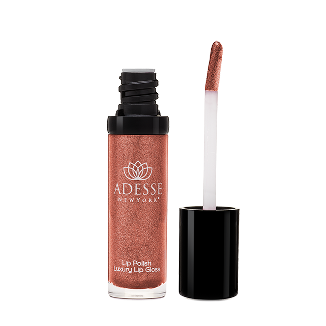 Lip Polish Luxury Lip Gloss - Firebrick - adesseny
