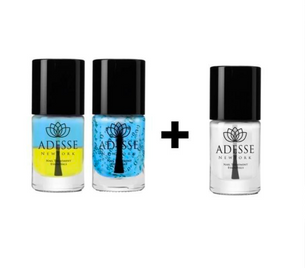 Triple Hydration - Nail & Cuticle Energizer and Marine Algae Duo Set with Sweet Almond Cuticle Oil