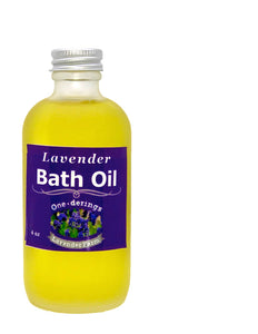 Lavender Bath Oil-Handmade & all natural