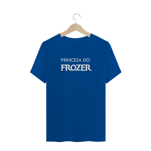 Camiseta Princeza do Frozer
