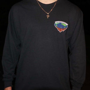 """FLAT EARTH SOCIETY"" LONGSLEEVE"