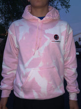 Load image into Gallery viewer, PINK BLEACHED HOODIE