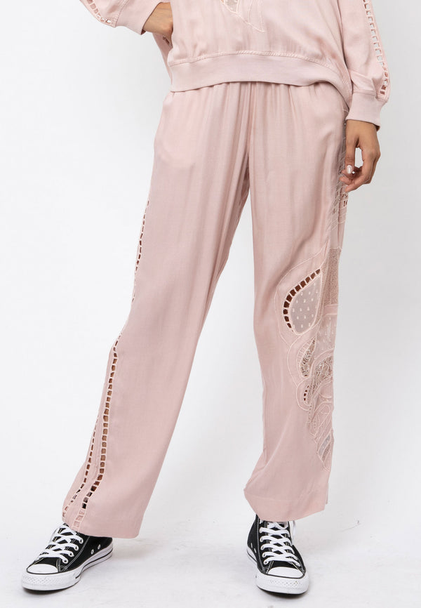RELIGION Dune Relaxed Rose Trousers