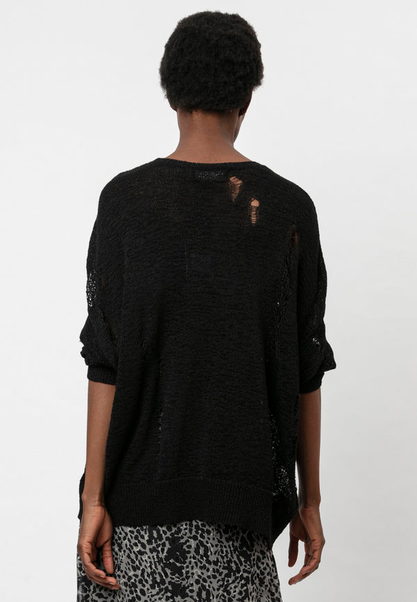 VICE JUMPER JET BLACK