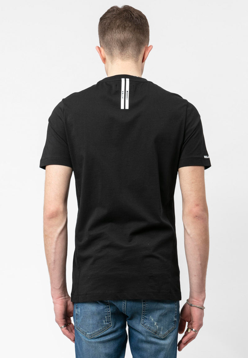 IRRIDESCENT T-SHIRT BLACK