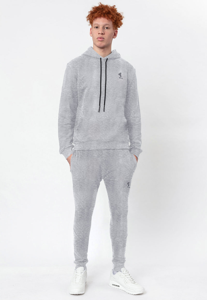 RELIGION CLASSIC OVERHEAD HOODIE GREY MARL