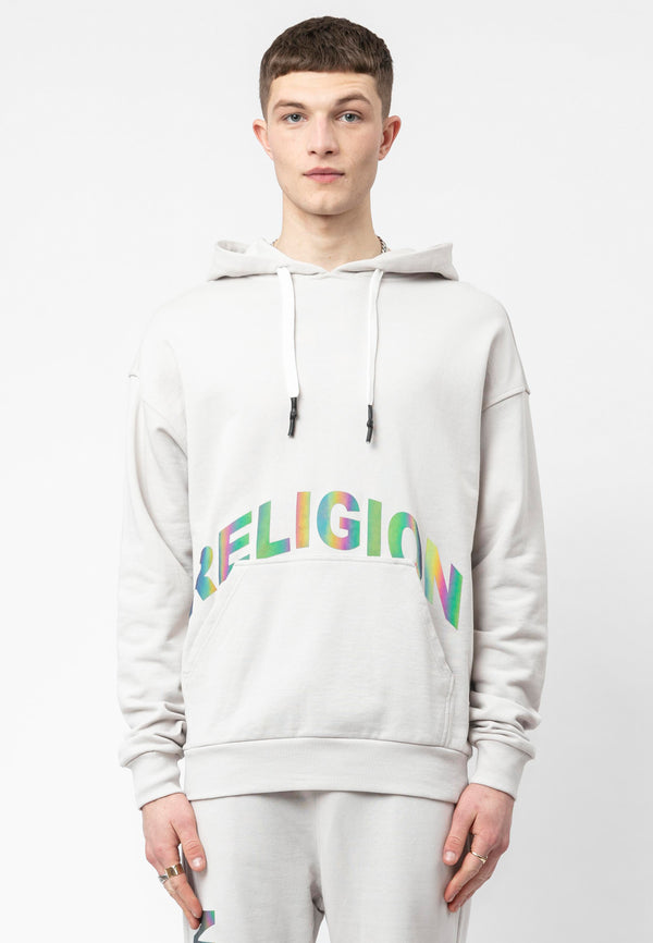 RELIGION LNP Ivory Oversized Hoodie