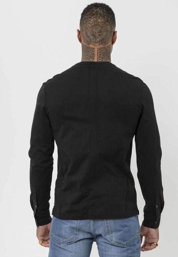 RELIGION Ormont Black Shirt