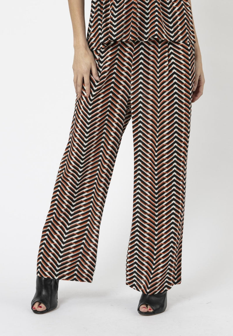 ARROW TROUSERS MUSTANG PRINT