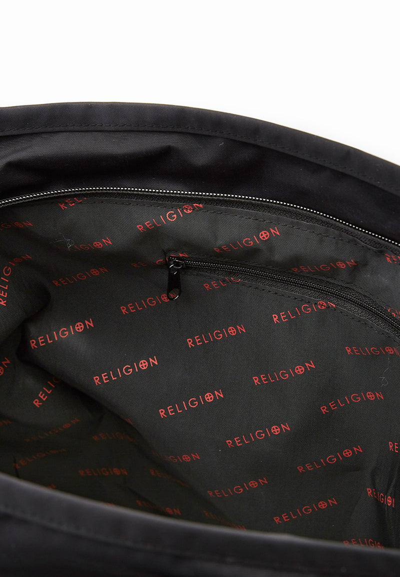RELIGION Lamo Tote Bag Black