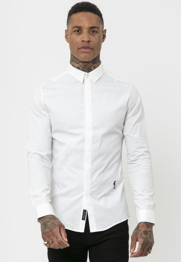 RELIGION Legion White Shirt