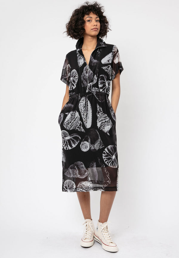 RELIGION Summer Hand Painted Print Dress