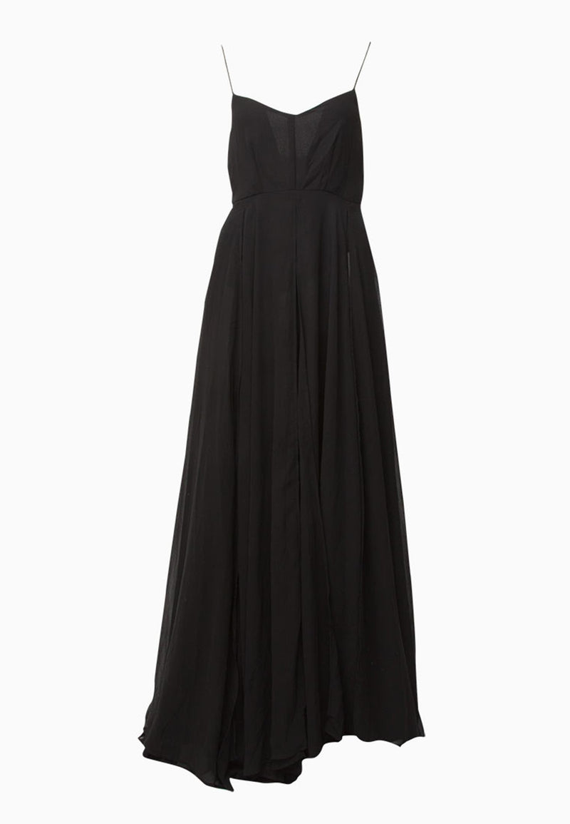 RELIGION Olsen Maxi Dress Black