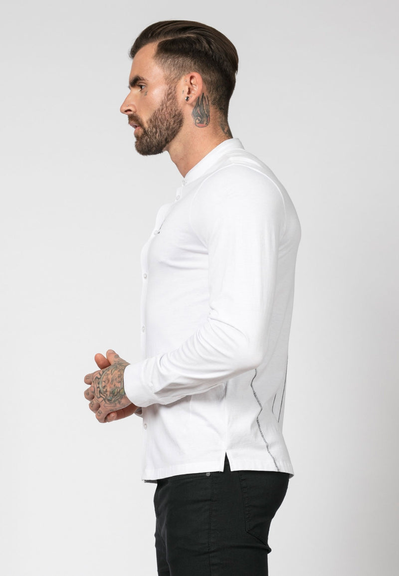 RELIGION Ormont White Shirt