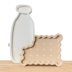 BITTEN BISCUIT wooden decorative LED light (FREE SHIPPING UK)