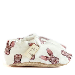 BUNNY baby moccasin shoes