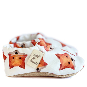 FOX baby moccasin shoes