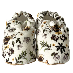 BEE baby moccasin shoes