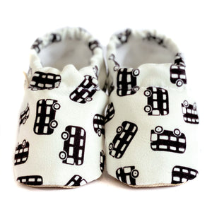 BUS baby moccasin shoes