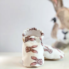 Load image into Gallery viewer, BUNNY baby moccasin shoes