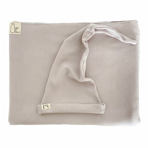 STONE GREY cotton stretchy baby wrap sling carrier (FREE SHIPPING UK)